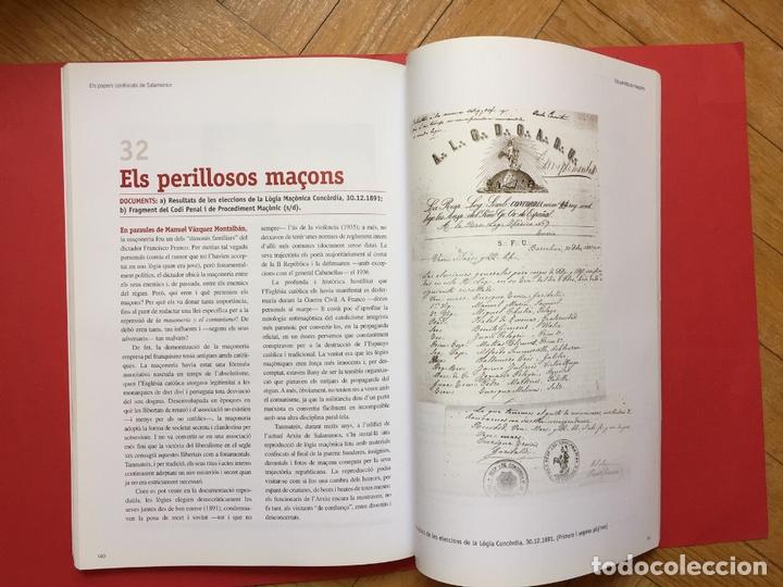 Libros de segunda mano: ELS PAPERS CONFISCATS DE SALAMANCA (El Periódico, 2006) ¡ORIGINAL! - Foto 7 - 163977542