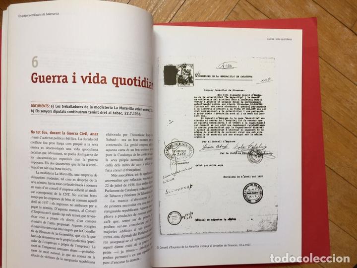 Libros de segunda mano: ELS PAPERS CONFISCATS DE SALAMANCA (El Periódico, 2006) ¡ORIGINAL! - Foto 9 - 163977542