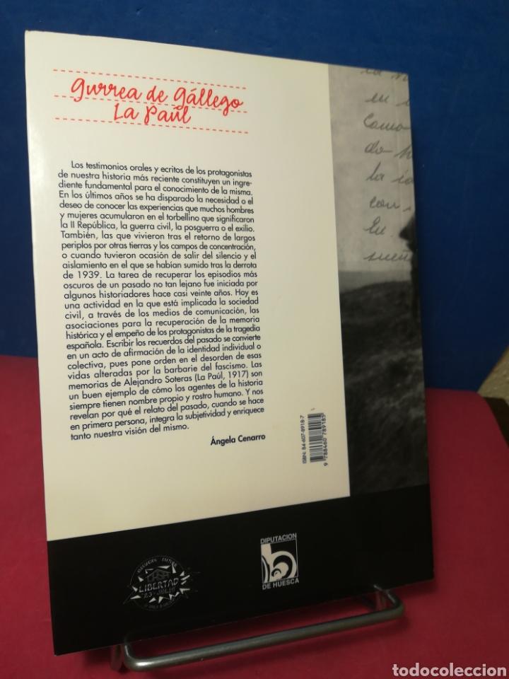 Libros de segunda mano: Mis memorias, por Alejandro Soteras, recuperando la memoria histórica de Gurrea de Gállego y La Paúl - Foto 3 - 163987220