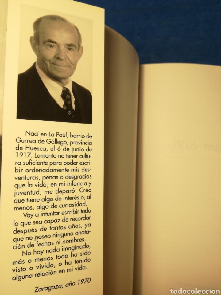 Libros de segunda mano: Mis memorias, por Alejandro Soteras, recuperando la memoria histórica de Gurrea de Gállego y La Paúl - Foto 4 - 163987220