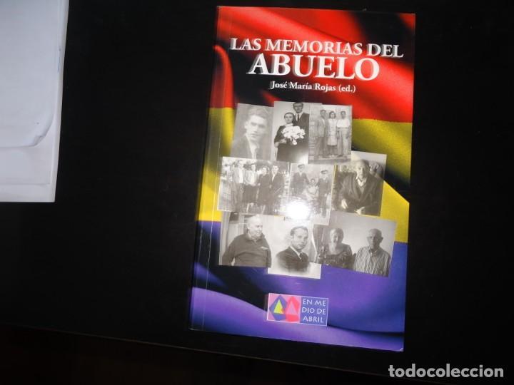 LAS MEMORIAS DEL ABUELO (Libros de Segunda Mano - Historia - Guerra Civil Española)