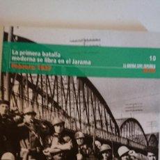 """Libros de segunda mano: """"LA GUERRA CIVIL ESPAÑOLA"""" LA PRIMERA BATALLA MODERNA SE LIBRA EN EL JARAMA - FEBRERO 1937 TOMO 10. Lote 164738794"""