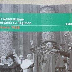 """Libros de segunda mano: """"LA GUERRA CIVIL ESPAÑOLA MES A MES"""" EL GENERALÍSIMO INSTAURA SU RÉGIMEN - ENERO 1938 TOMO 21. Lote 164728762"""