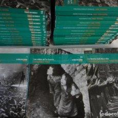 Libros de segunda mano: LA GUERRA CIVIL ESPAÑOLA MES A MES, OBRA COMPLETA EN 36 TOMOS. COMO NUEVA!!!. Lote 166417502