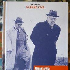 Libros de segunda mano: MANUEL AZAÑA . DIARIOS DE GUERRA. Lote 166978004