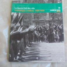 Libros de segunda mano: LA GUERRA CIVIL ESPAÑOLA MES A MES VOLUMEN 36, CRONOLOGIA E INDICES. BIBLIOTECA EL MUNDO, 2005.. Lote 167079600