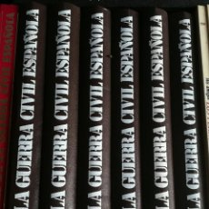 Libros de segunda mano: COLECCIÓN LA GUERRA CIVIL ESPAÑOLA- HUGHT TOMAS, 6 TOMOS (COMPLETA!!!) EDICIONES URBION. . Lote 167836976