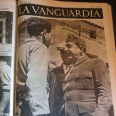 Libros de segunda mano: ULTIMOS DITOMO II CON 74 NOTAS GRÁFICAS LA VANGUARDIA,DEL BANDO REPUBLICANO,MUY BUEN ESTADO AÑO 1937. Lote 167872984