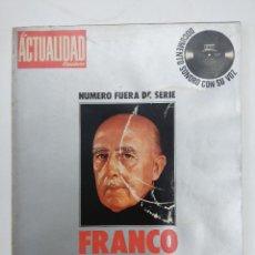 Libros de segunda mano: LIBRO/FRANCO 40 AÑOS DE HISTORIA DE ESPAÑA/LA ACTUALIDAD/NUMERO FUERA DE SERIE.. Lote 168195364