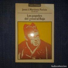 Libros de segunda mano: LOS PAPELES DEL GENERAL ROJO. Lote 168351424