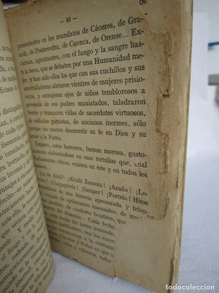 Libros de segunda mano: Tipos y sombras de la tragedia- 1ª edición 1937 - Foto 3 - 168387112
