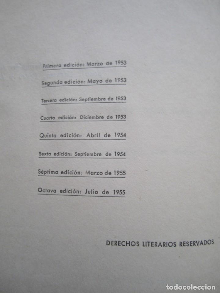 Libros de segunda mano: Los cipreses creen en Dios-José Mª Gironella-Edición de 1955 - Foto 5 - 168703636