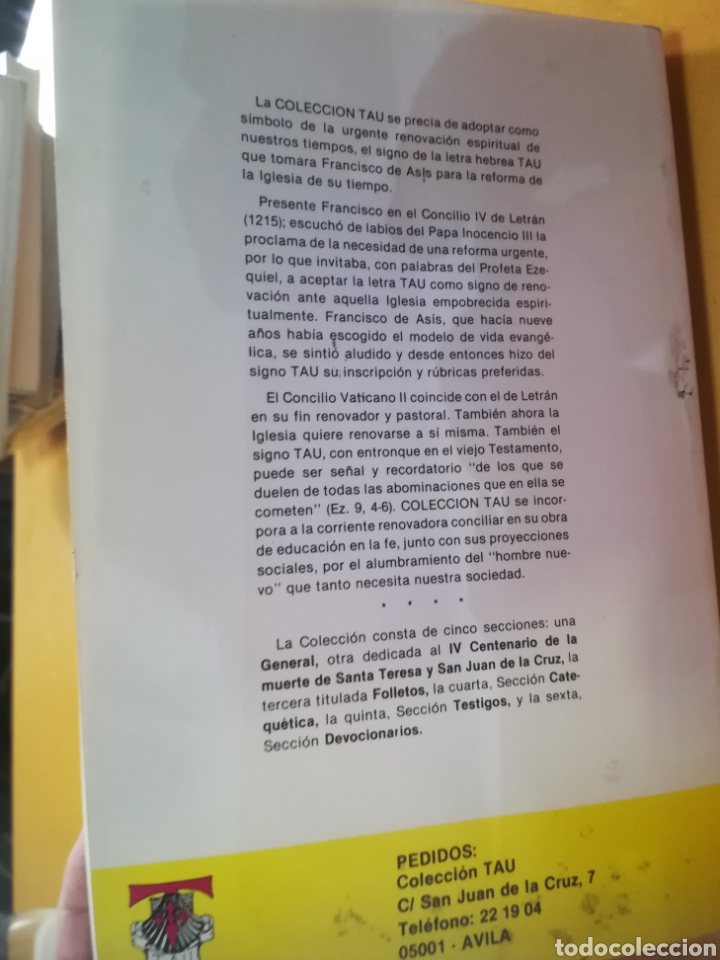 Libros de segunda mano: Pasión y gloria de iglesia Abulense datos para la historia de 1936 Andrés Sánchez Sánchez Ávila 1987 - Foto 2 - 171604215