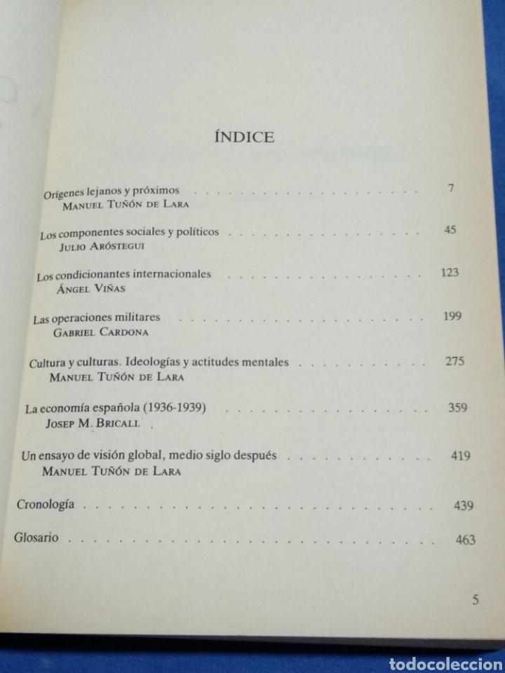 Libros de segunda mano: La guerra civil española 50 años después - Foto 3 - 172024635