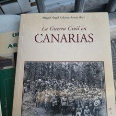 Libros de segunda mano: LA GUERRA CIVIL EN CANARIAS MIGUEL CABRERA ACOSTA. EDITADO FRANCISCO LEMUS . Lote 172054152