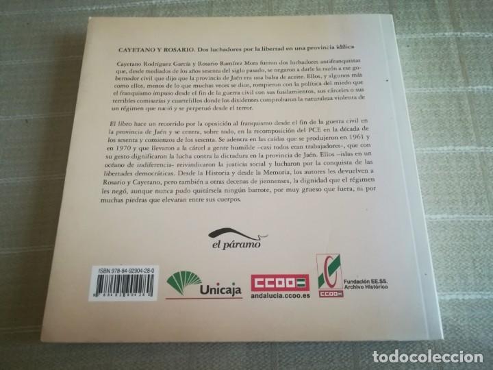Libros de segunda mano: LIBRO LA PRIMA ROSARIO Y CAYETANO LUCHADORES POR LA LIBERTAD EN UNA PROVINCIA IDÍLICA - Foto 11 - 173011504