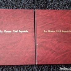 Libros de segunda mano: GUERRA CIVIL ESPAÑOLA. DIARIO 16. 2 TOMOS ENCUADERNADOS.. Lote 173030789