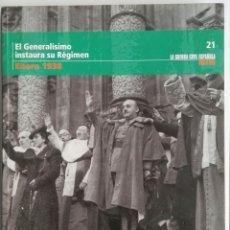 Libros de segunda mano: LA GUERRA CIVIL ESPAÑOLA MES A MES ENERO 1938 21. Lote 173031002
