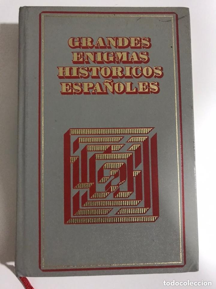 GRANDES ENIGMAS HISTÓRICOS ESPAÑOLES. EL FRENTE POPULAR Y OTROS (Libros de Segunda Mano - Historia - Guerra Civil Española)