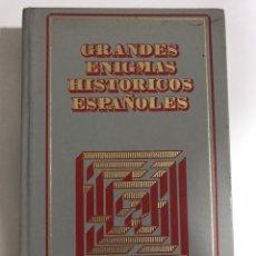 Libros de segunda mano: GRANDES ENIGMAS HISTÓRICOS ESPAÑOLES. EL FRENTE POPULAR Y OTROS. Lote 173594959