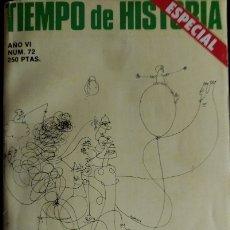 Libros de segunda mano: TIEMPO DE HISTORIA ESPECIAL. AÑO VI Nº 72. BALANCE DE 5 AÑOS POSTFRANQUISMO.. Lote 173704293