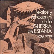 Libros de segunda mano: FRANCISCO CIUTAT. RELATOS Y REFLEXIONES SOBRE LA GUERRA DE ESPAÑA. MADRID, 1978. Lote 174270039