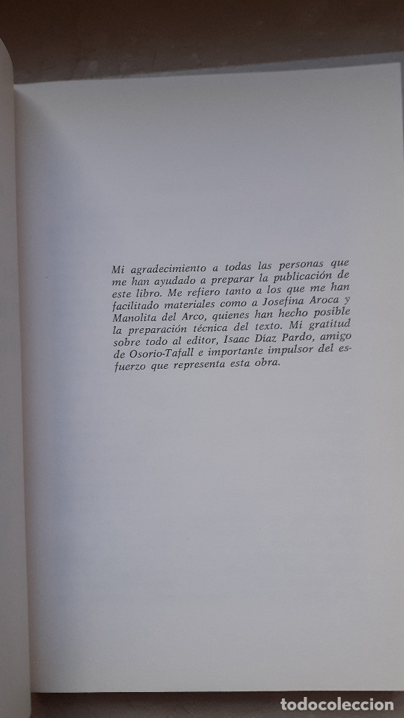 Libros de segunda mano: OSORIO TAFALL. SU PERSONALIDAD, APORTACION A LA HISTORIA. Firma autor en 1993: Santiago Alvarez - Foto 6 - 174993699
