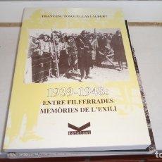Libros de segunda mano: MEMORIAS DEL EXILIO. Lote 175144900