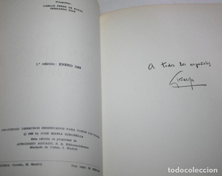 Libros de segunda mano: CONVERSACIONES CON DON JUAN DE BORBON, JOSE MARIA GIRONELLA, AGUADO 1ª ED. 1968, LIBRO - Foto 2 - 175298254