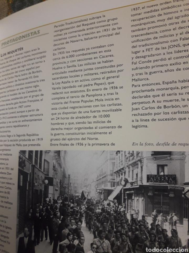 Libros de segunda mano: Libro de la guerra civil española Tikal - Foto 2 - 175519094