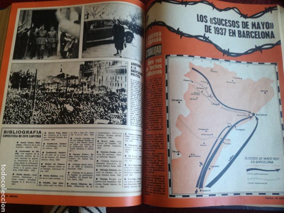 Libros de segunda mano: La Actualidad Española Coleccionable. La Guerra de España. 1936-1939 - Foto 10 - 175683090