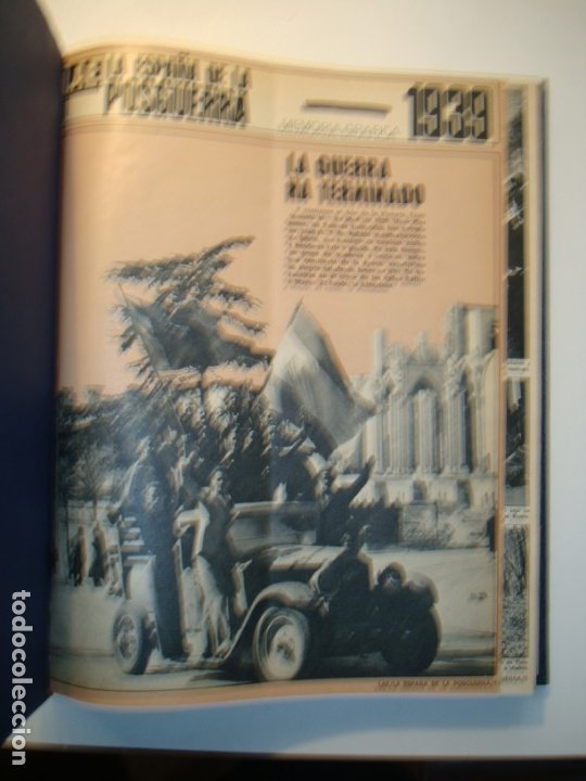 Libros de segunda mano: LA ESPAÑA DE LA POSGUERRA 1939-1949 + FRANCO 40 AÑOS DE LA HISTORIA DE ESPAÑA (CON FLEXI) ACTUALIDAD - Foto 4 - 175741648