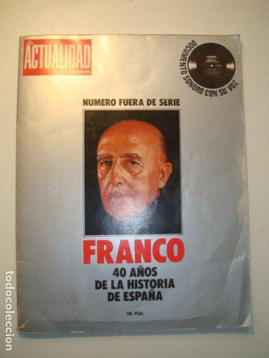 Libros de segunda mano: LA ESPAÑA DE LA POSGUERRA 1939-1949 + FRANCO 40 AÑOS DE LA HISTORIA DE ESPAÑA (CON FLEXI) ACTUALIDAD - Foto 6 - 175741648