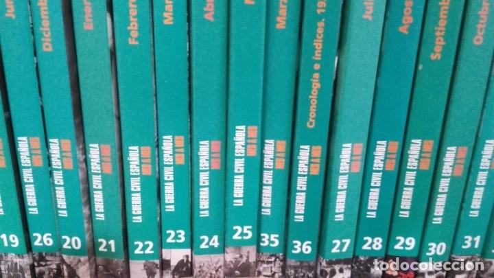 Libros de segunda mano: LA GUERRA CIVIL ESPAÑOLA EL MUNDO 36 TOMOS - Foto 3 - 175809060