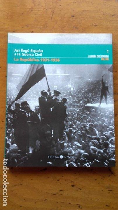 Libros de segunda mano: LA GUERRA CIVIL ESPAÑOLA EL MUNDO 36 TOMOS - Foto 4 - 175809060