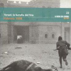 Libros de segunda mano: TERUEL, LA BATALLA DEL FRÍO. Lote 176483032