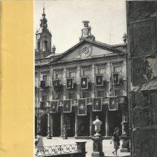 Libros de segunda mano: VITORIA 1939-1964. 25 AÑOS DE PAZ. HERACLIO FOURNIER 1964.. Lote 176517342