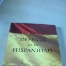 Libros de segunda mano: DEFENSA DE LA HISPANIDAD. HOMOLEGENS. TAPA BLANDA.. Lote 189932758