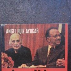 Libros de segunda mano: ÁNGEL RUIZ AYÚCAR: EL PARTIDO COMUNISTA. 37 AÑOS DE CLANDESTINIDAD. Lote 178173450