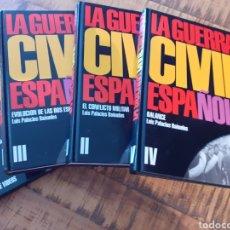 Libros de segunda mano: LA GUERRA CIVIL ESPAÑOLA- LUIS PALACIOS BAÑUELOS. Lote 178671351
