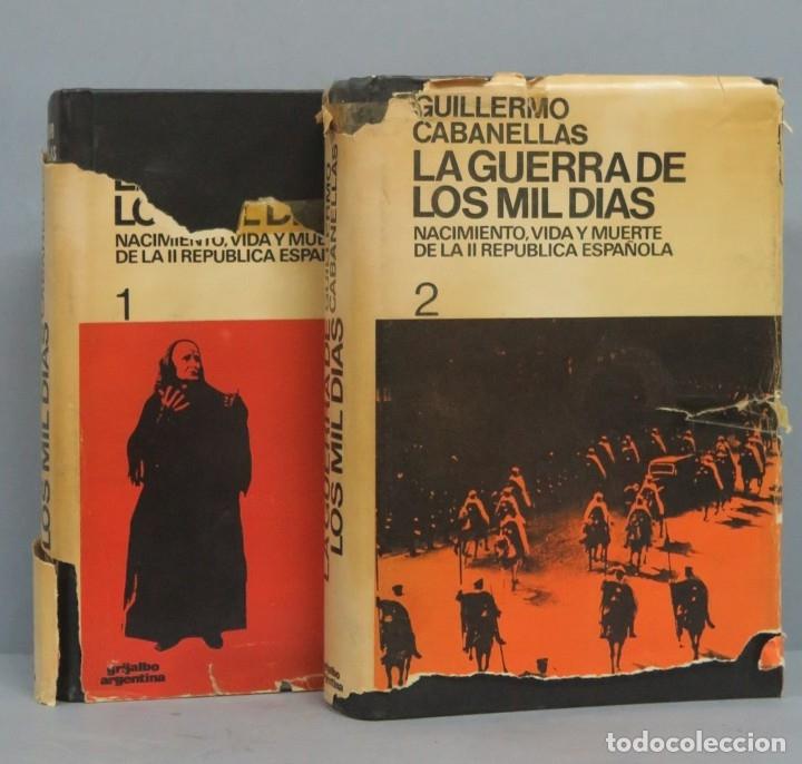 LA GUERRA DE LOS MIL DIAS. GUILLERMO CABANELLAS. 2 TOMOS (Libros de Segunda Mano - Historia - Guerra Civil Española)