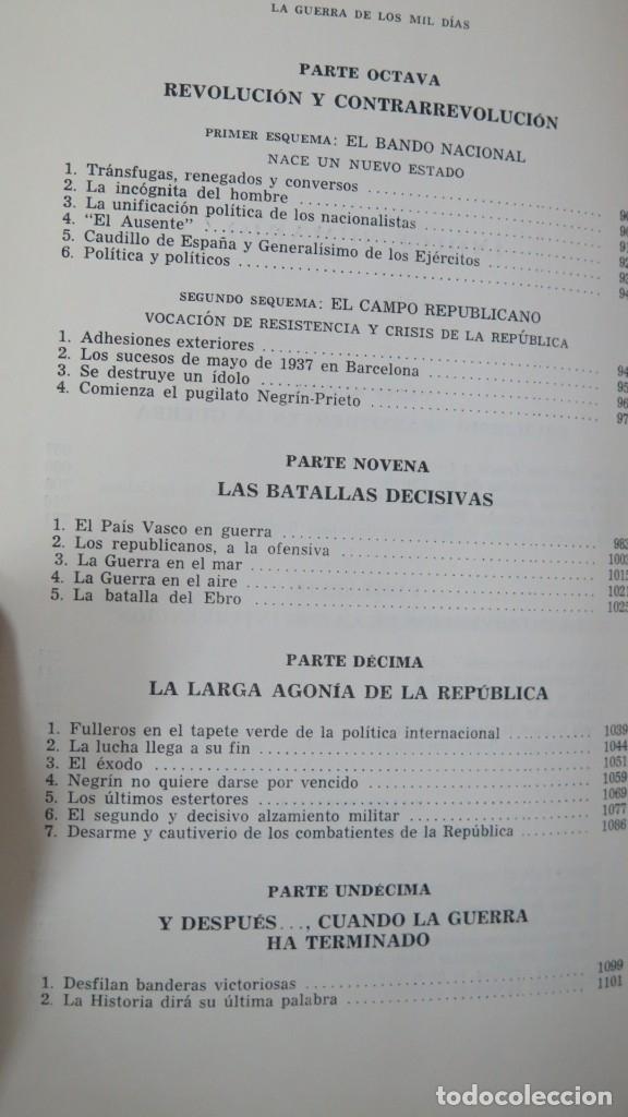 Libros de segunda mano: LA GUERRA DE LOS MIL DIAS. GUILLERMO CABANELLAS. 2 TOMOS - Foto 5 - 180385950