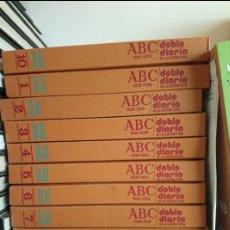 Libros de segunda mano: ABC 1936-1939 DOBLE DIARIO DE LA GUERRA CIVIL ESPAÑOLA (OBRA COMPLETA). Lote 180842770