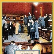 Libros de segunda mano: EL TRIBUNAL REVOLUCIONARIO DE BARCELONA (1936-1937). EDUARDO BARRIOBERO. NUEVO. Lote 285622163