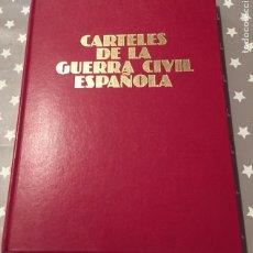 Libros de segunda mano: CARTELES DE LA GUERRA CIVIL ESPAÑOLA, URBION. Lote 182070557