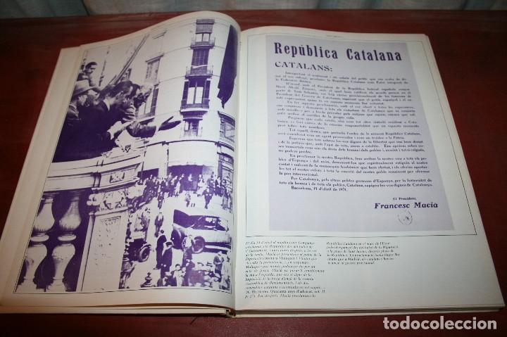 Libros de segunda mano: RECUPEREM LA NOSTRA HISTÒRIA DOCUMENTS 1931-1939 2 VOL. - 1976 - ED. 62 - EN CATALÁN - GRAN FORMATO - Foto 4 - 182225450