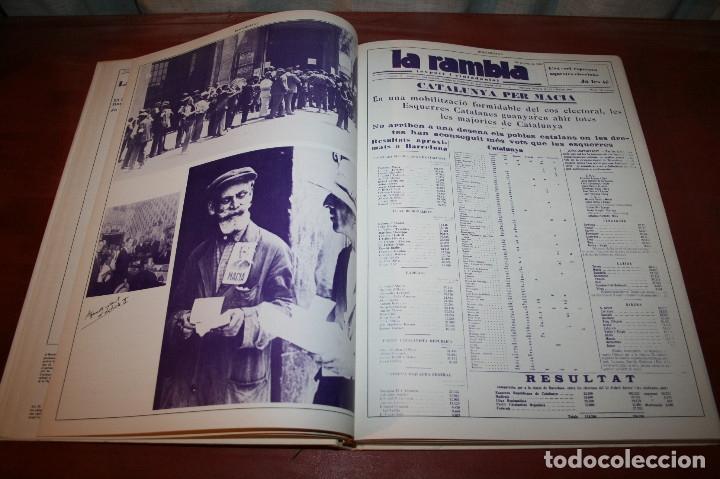 Libros de segunda mano: RECUPEREM LA NOSTRA HISTÒRIA DOCUMENTS 1931-1939 2 VOL. - 1976 - ED. 62 - EN CATALÁN - GRAN FORMATO - Foto 5 - 182225450