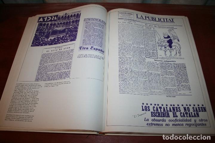 Libros de segunda mano: RECUPEREM LA NOSTRA HISTÒRIA DOCUMENTS 1931-1939 2 VOL. - 1976 - ED. 62 - EN CATALÁN - GRAN FORMATO - Foto 6 - 182225450