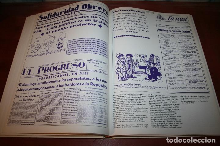Libros de segunda mano: RECUPEREM LA NOSTRA HISTÒRIA DOCUMENTS 1931-1939 2 VOL. - 1976 - ED. 62 - EN CATALÁN - GRAN FORMATO - Foto 7 - 182225450