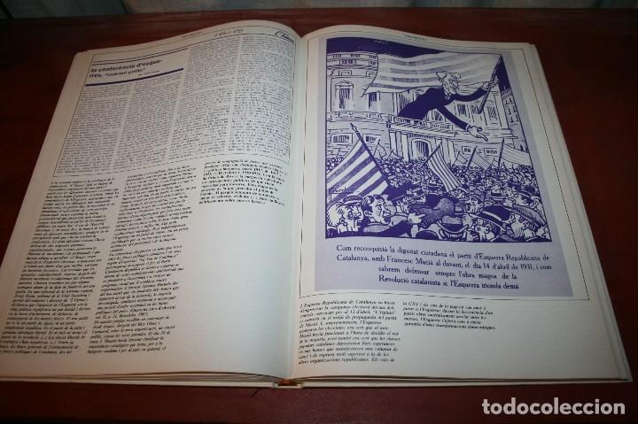 Libros de segunda mano: RECUPEREM LA NOSTRA HISTÒRIA DOCUMENTS 1931-1939 2 VOL. - 1976 - ED. 62 - EN CATALÁN - GRAN FORMATO - Foto 8 - 182225450